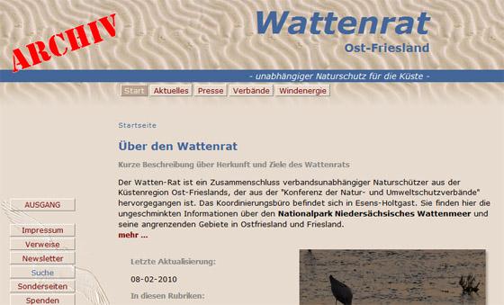 Wattenrat Archiv
