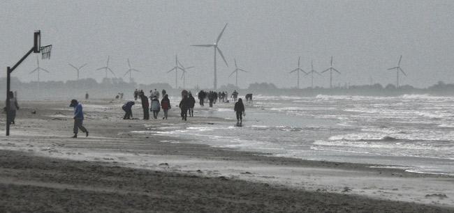Blick von der Insel Langeoog aufs Festland, Foto (C): Manfred Knake