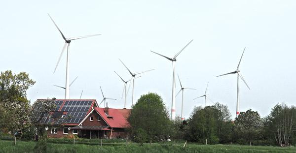 Utarp, WindparkWesterhot/LK Wittmund/NDS, Foto (C) Manfred Knake