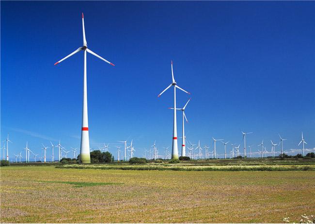 Windparks in Arle, Großheode und Dornum, LK Aurich/NDS; Foto (C): Manfred Knake