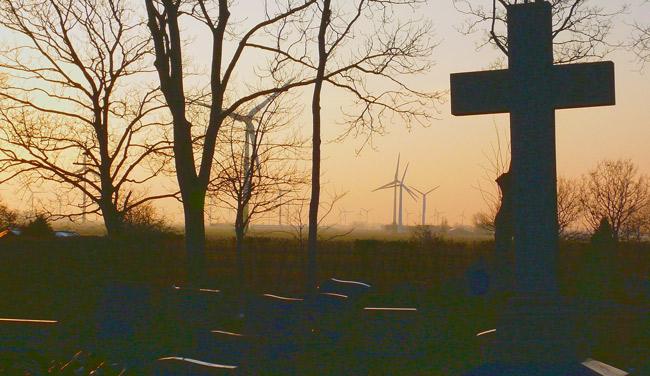 Landschaftstod in Dornum, Foto (C): Manfred Knake