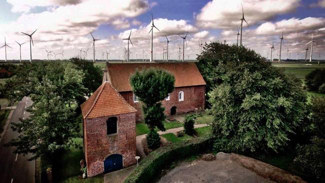 Roggenstede/Gemeinde Dornum/LK Aurich, die Nachbargemeinde von Hotriem, Foto: privat