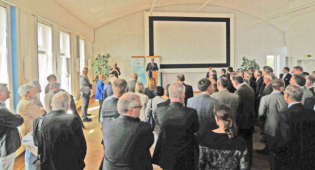 Festrede von Björn Thümler (CDU), FArktionsvorsitzender der Pppositionspartei im Niedersächsischen Landtag, Foto (C): Eilert Voß