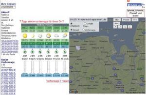 Wetter Dornum