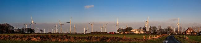 Windpark Utgast (Ausshnitt), Gemeinde Holtgast, Foto (C): Insa Bock