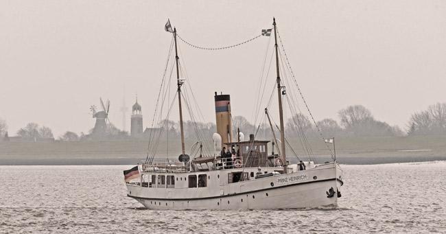 Historisches Dampfschiff Prinz Heinrich Wieder Einsatzbereit